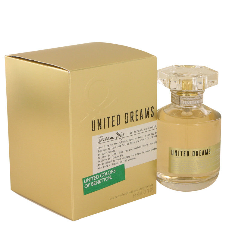 United Dreams Dream Big by Benetton 80ml Eau De Toilette Spray 2.7 oz (Women)
