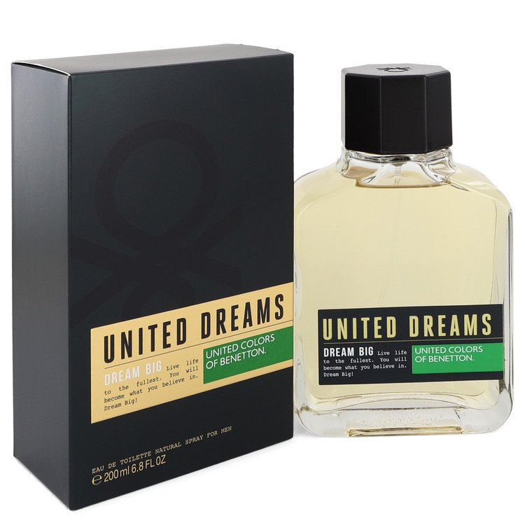 United Dreams Dream Big by Benetton 200ml Eau De Toilette Spray 6.8 oz (Men)