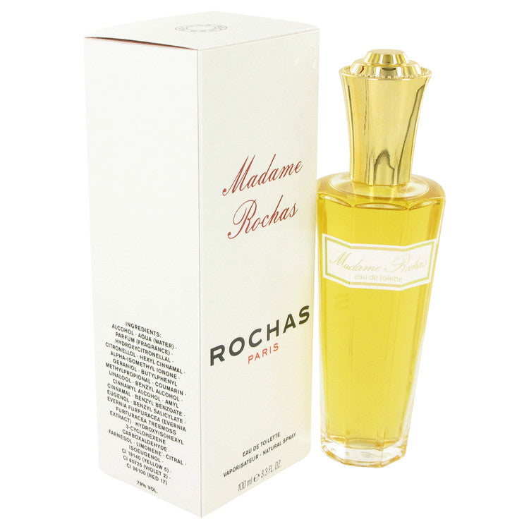 MADAME ROCHAS by Rochas 100ml Eau De Toilette Spray 3.4 oz (Women)