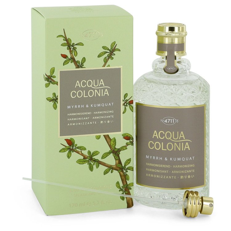 4711 Acqua Colonia Myrrh & Kumquat by Acqua Di Parma 169ml Eau De Cologne Spray 5.7 oz (Women)