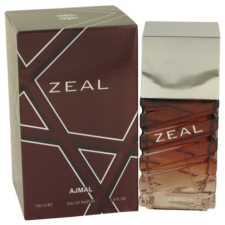Ajmal Zeal by Ajmal 100ml Eau De Parfum Spray 3.4 oz (Men)