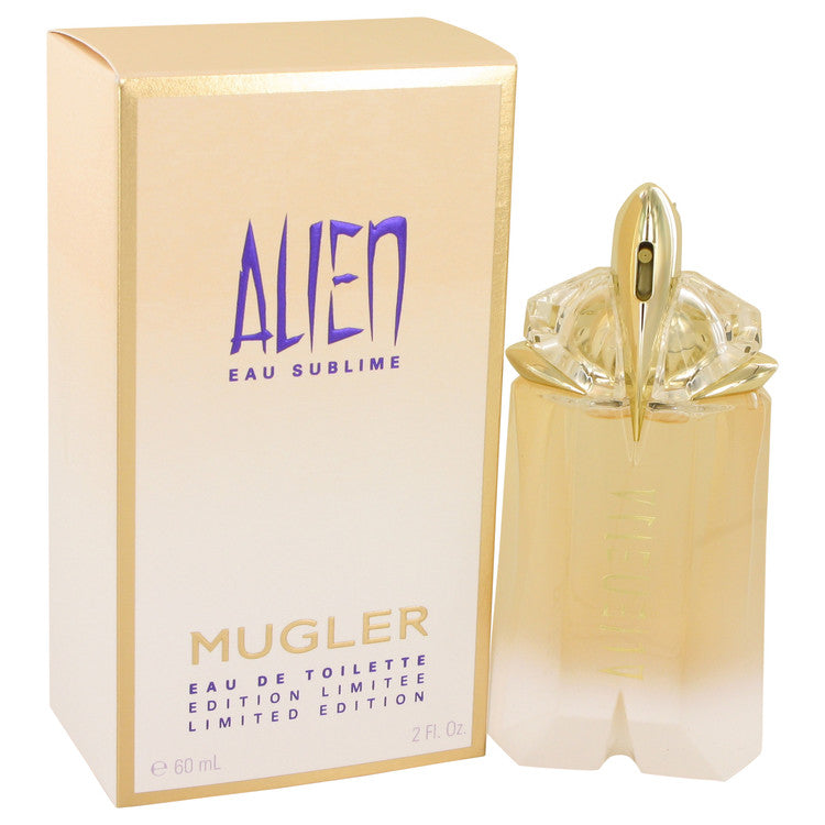 Alien Eau Sublime by Thierry Mugler 60ml Eau De Toilette Spray 2 oz (Women)