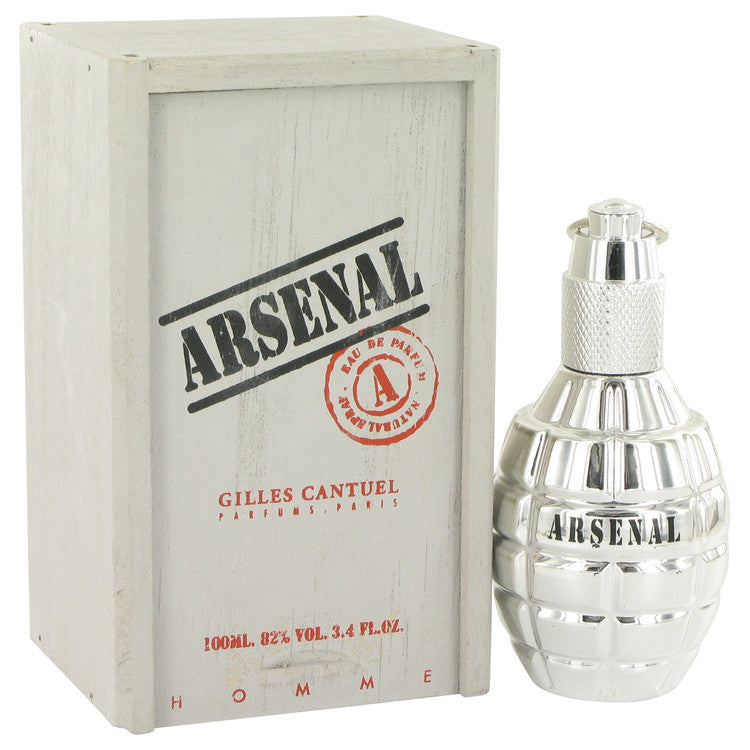 Arsenal Platinum by Arsenal 100ml Eau De Parfum Spray 3.4 oz (Men)