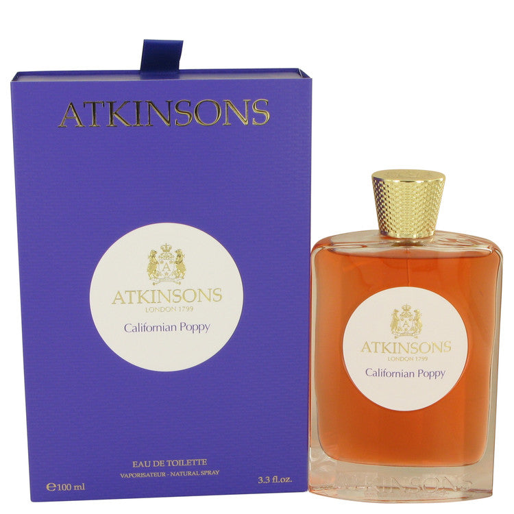 Californian Poppy by Atkinsons 100ml Eau De Toilette Spray 3.3 oz (Women)