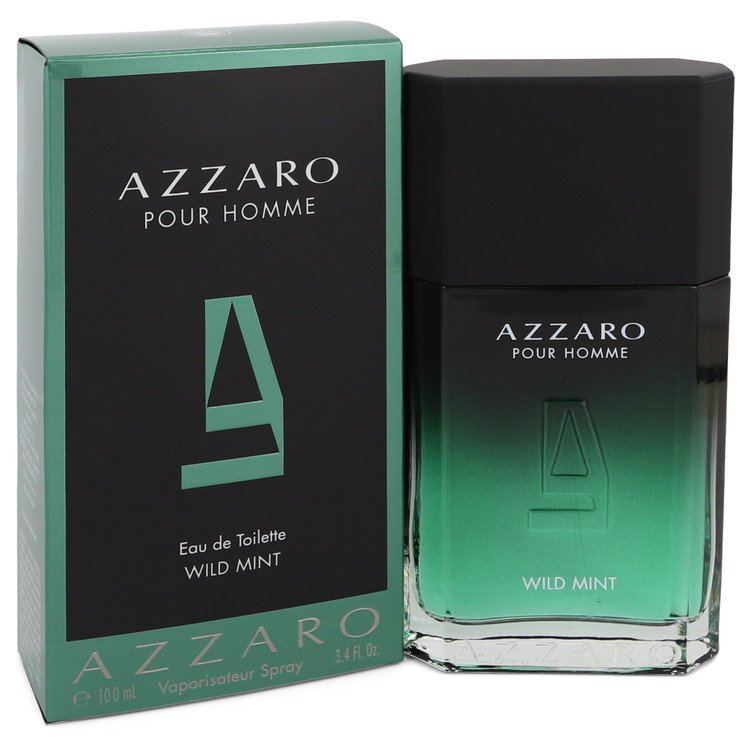 Azzaro Wild Mint by Azzaro 100ml Eau De Toilette Spray 3.4 oz (Men)