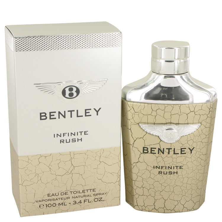 Bentley Infinite Rush by Bentley 100ml Eau De Toilette Spray 3.4 oz (Men)