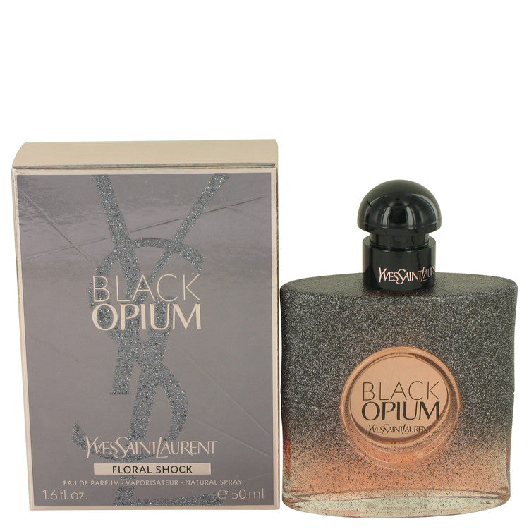 Black Opium Floral Shock by Yves Saint Laurent 50ml Eau De Parfum Spray 1.7 oz (Women)