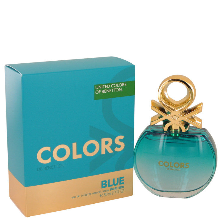 Colors Blue by Benetton 80ml Eau De Toilette Spray 2.7 oz (Women)