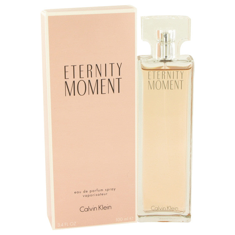 Eternity Moment by Calvin Klein 100ml Eau De Parfum Spray 3.4 oz (Women)
