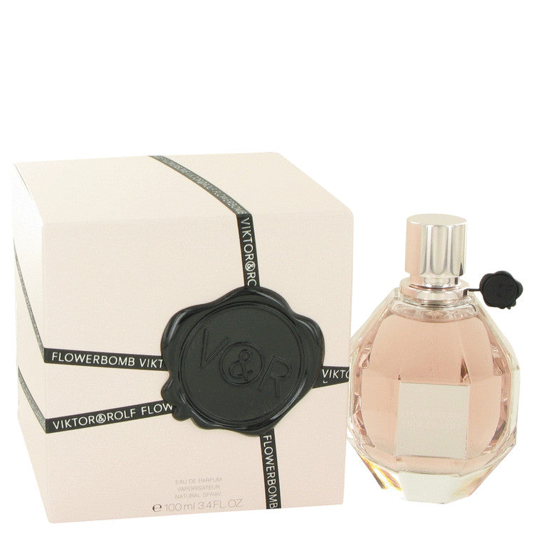 Flowerbomb by Viktor & Rolf 100ml Eau De Parfum Spray 3.4 oz (Women)