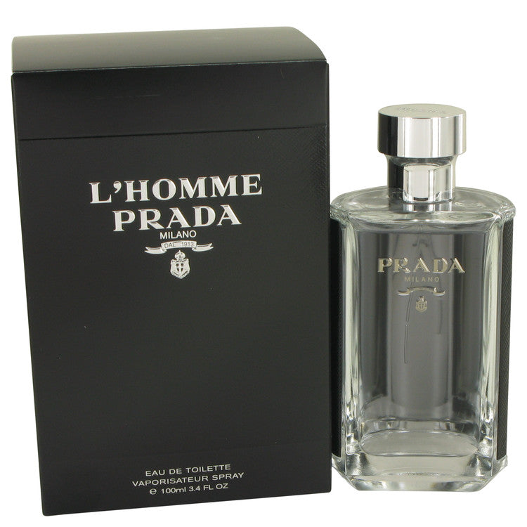 L'homme Prada by Prada 100ml Eau De Toilette Spray 3.4 oz (Men)