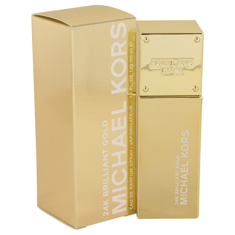 Michael Kors 24K Brilliant Gold by Michael Kors 50ml Eau De Parfum Spray 1.7 oz (Women)