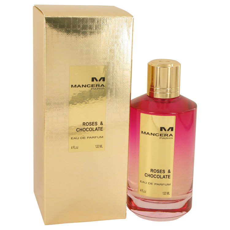 Mancera Roses & Chocolate by Mancera 120ml Eau De Parfum Spray (Unisex) 4 oz (Women)