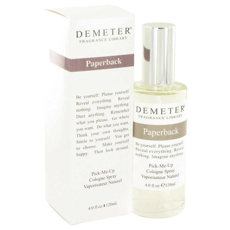 Demeter by Demeter 120ml Paperback Cologne Spray 4 oz (Women)