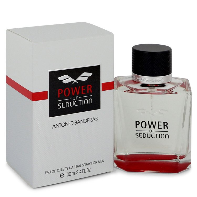 Power of Seduction by Antonio Banderas 100ml Eau De Toilette Spray 3.4 oz (Men)
