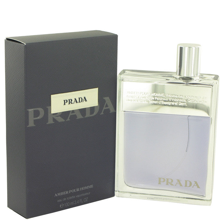 Prada Amber by Prada 100ml Eau De Toilette Spray 3.4 oz (Men)