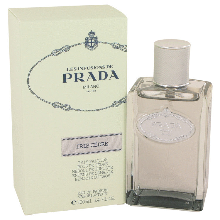 Prada Infusion D'Iris Cedre by Prada 100ml Eau De Parfum Spray (Unisex) 3.4 oz (Women)