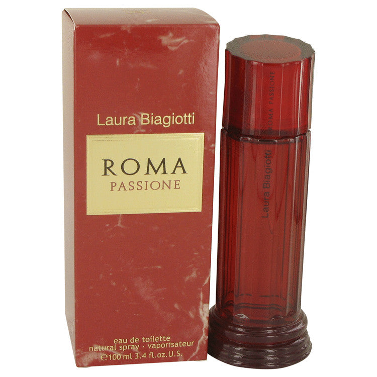Roma Passione by Laura Biagiotti 100ml Eau De Toilette Spray 3.4 oz (Women)