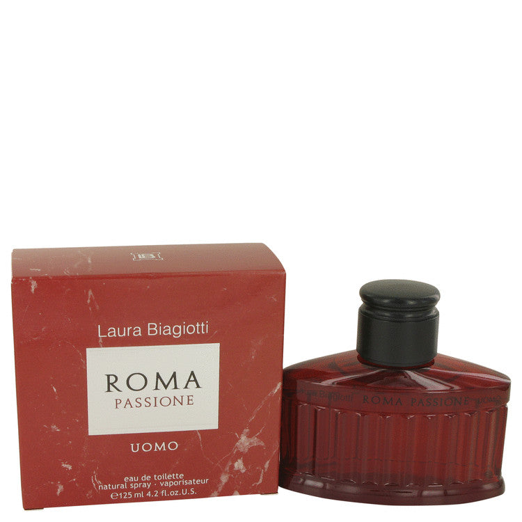 Roma Passione by Laura Biagiotti 125ml Eau De Toilette Spray 4.2 oz (Men)