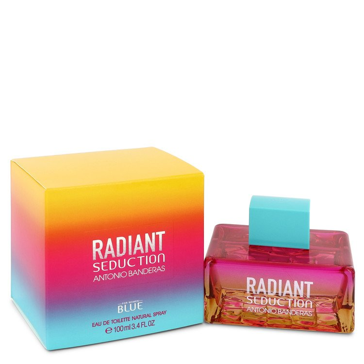 Radiant Seduction Blue by Antonio Banderas 100ml Eau De Toilette Spray 3.4 oz (Women)