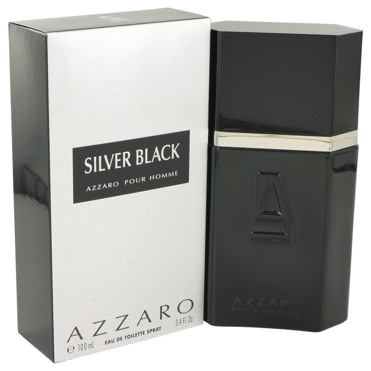Silver Black by Azzaro 100ml Eau De Toilette Spray 3.4 oz (Men)