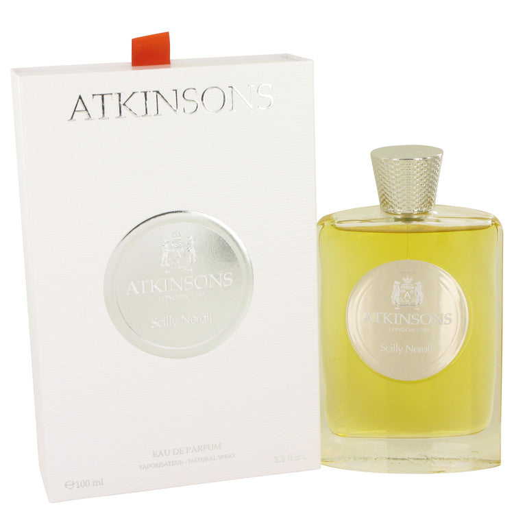 Sicily Neroli by Atkinsons 100ml Eau De Parfum Spray (Unisex) 3.3 oz (Women)