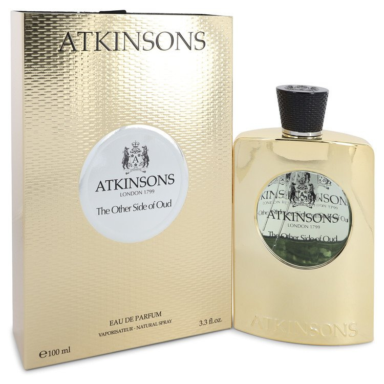The Other Side of Oud by Atkinsons 100ml Eau De Parfum Spray (Unisex) 3.3 oz (Women)