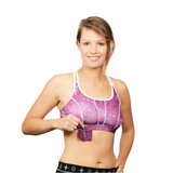 The travel Bra - Beach Travel Bra with secret pockets.  Anti-Theft.  Store your passport, cash, keys, jewellery, cards.  Summer clearance.  Available in sizes extra small, small, medium and large.