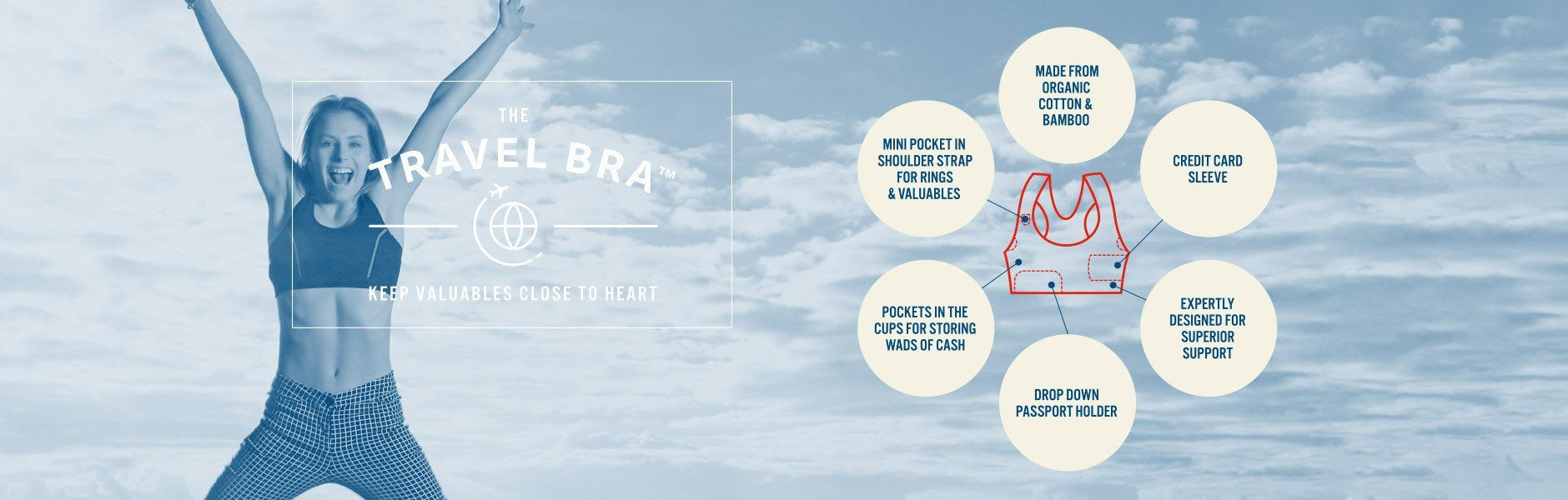 The Travel Bra