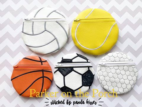 New Sports Balls Zipper Bags, Magical Sports Snaptabs, and Sports Charms