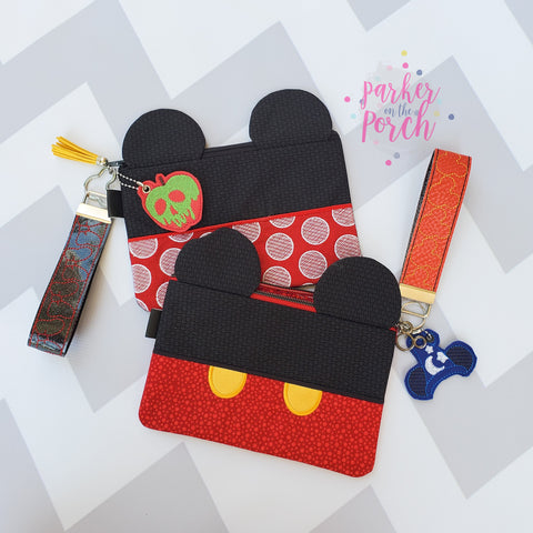 Magical Mouse Top Zipper Bag