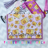 Digital Download- Applique Pocket Keeper Set of 6 - in the hoop machine embroidery ITH pattern