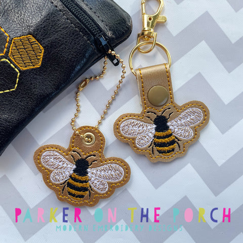 Digital Download- Bee Snaptab & Charm Set