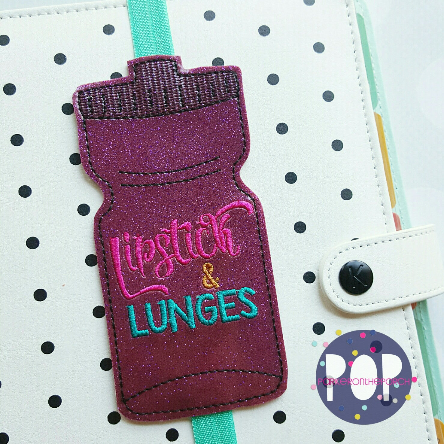 Digital Download- Lipstick & Lunges Planner Band (5x7 Only) - Parker on the Porch