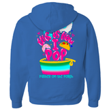 POP Swag- This is How I POP! Zip Up Hoodie - in the hoop machine embroidery ITH pattern