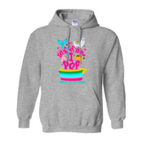 POP Swag- Unisex Pull Over Hoodie - in the hoop machine embroidery ITH pattern