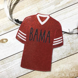 Digital Download- Sport Jersey Banner - in the hoop machine embroidery ITH pattern