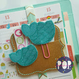 Digital Download- Mermaid Tail Feltie & Planner Clip Set - Parker on the Porch