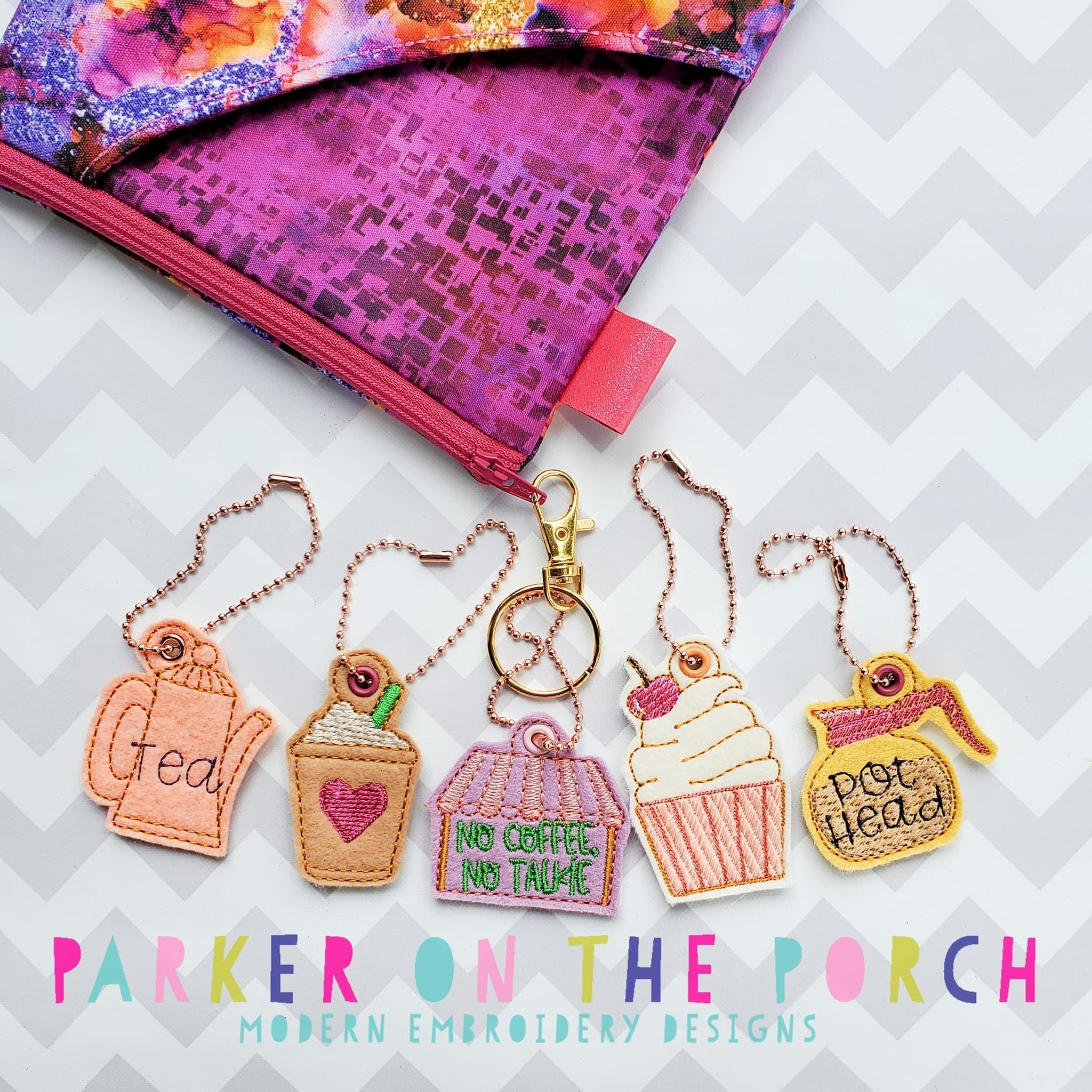 Digital Download - Coffee Shop Charm Set