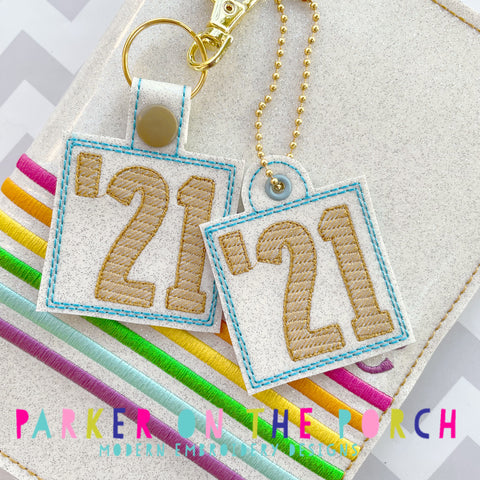 Digital Download- Class of 21 Snaptab & Charm Set