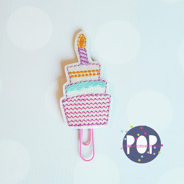 Digital Download- Birthday Cake Planner Clip - Parker on the Porch