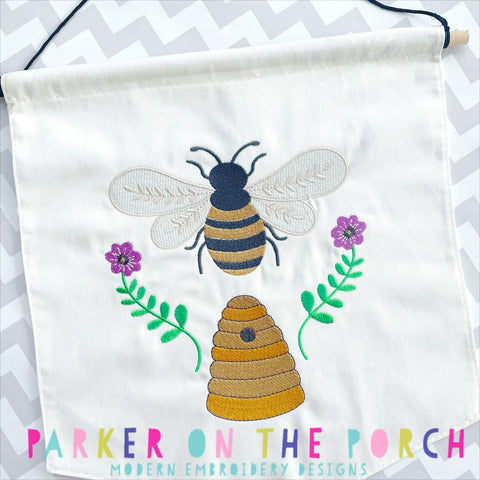 Digital Download- Bee Hive - Embroidery Fill
