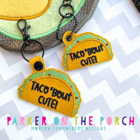 Digital Download- Taco Bout Cute Snaptab & Charm Set