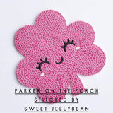 Digital Download- Clover Banner - in the hoop machine embroidery