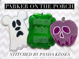Digital Download - Magical Ghost Banner - in the hoop machine embroidery ITH pattern