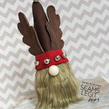 Digital Download- Gnome Wreath Stuffie HAT ADD ON PACK 1 - in the hoop machine embroidery ITH pattern
