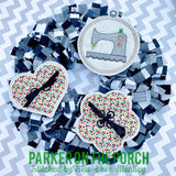 Digital Download- Embroidery Hoop Sewing Banner Bundle - in the hoop machine embroidery ITH pattern