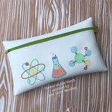 Digital Download- Science Sketch Trio - in the hoop machine embroidery ITH pattern