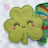 Digital Download- Clover Banner - in the hoop machine embroidery ITH pattern