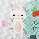 Digital Download- Bunny Banner - in the hoop machine embroidery ITH pattern